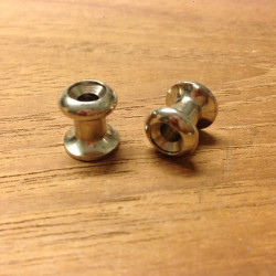 Kalecheknap 12mm 2-pak