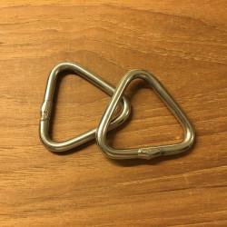 Trekant rustfri stål