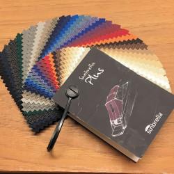 Sunbrella farveprøve