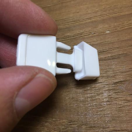 Fixlock hvid